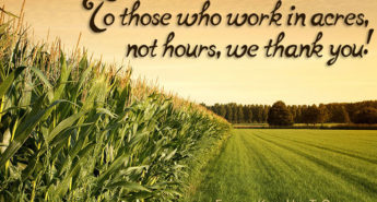 Acres not Hours