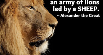Alexander the Great quote