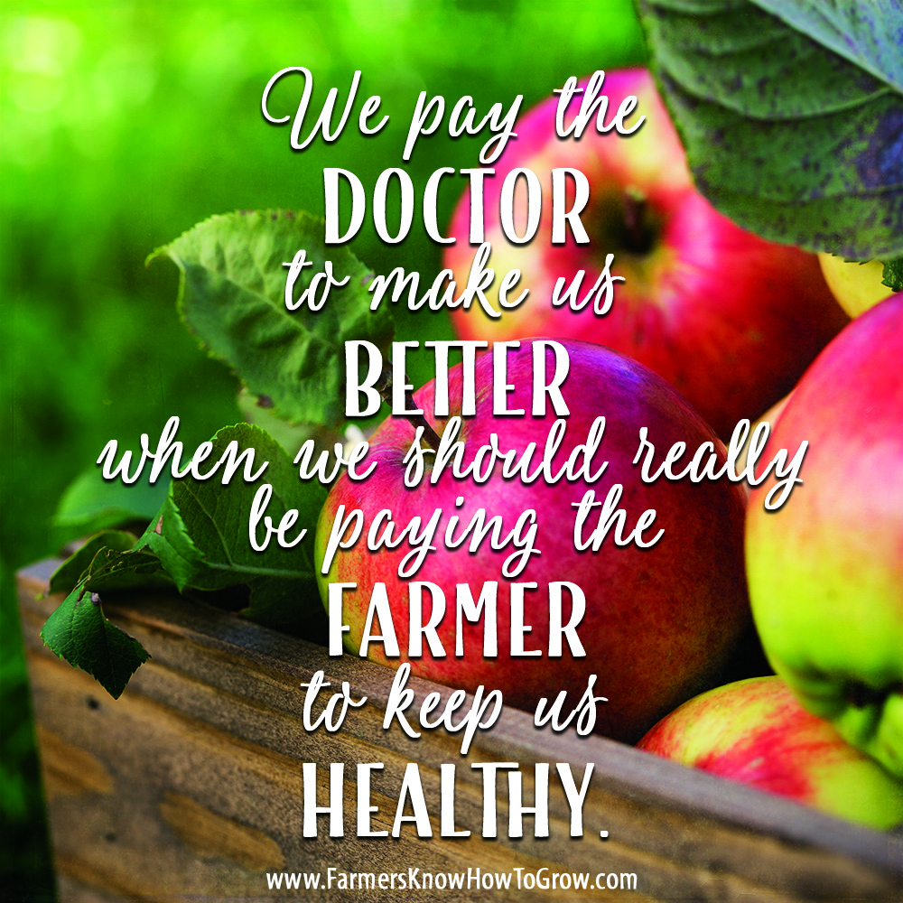 Farmers Quote Doctors And Farmers  Randy Frazier