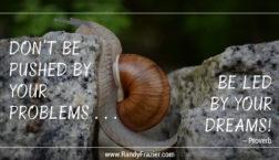 Problems vs. Dreams Quote