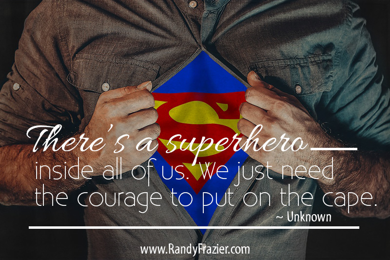 Superhero Quote