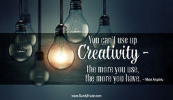 Maya Angelou Quote on Creativity