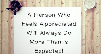 Quote about Appreciation