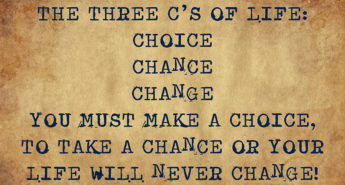 The Three Cs of Life