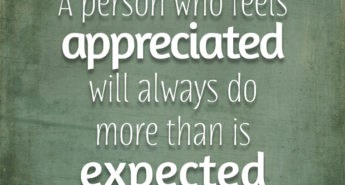 Quote about Appreciation