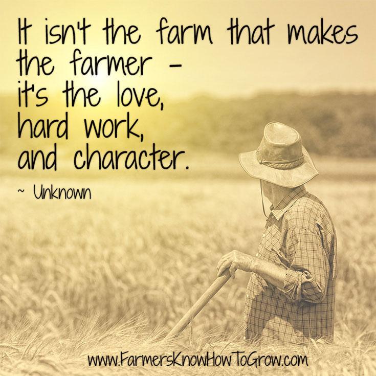 What Makes the Farmer