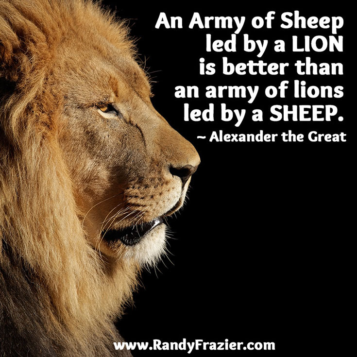 Alexander The Great Quote Randy Frazier