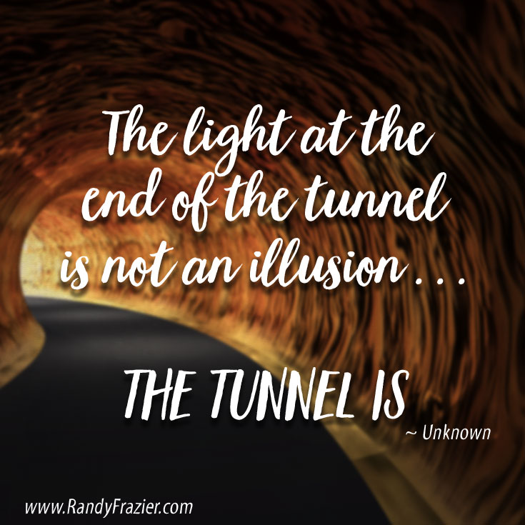 Light At The End Of The Tunnel Randy Frazier