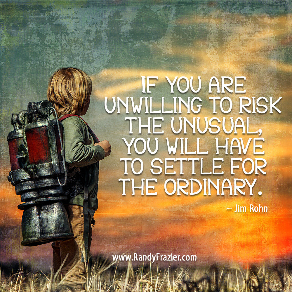 Jim Rohn Quote about Risks