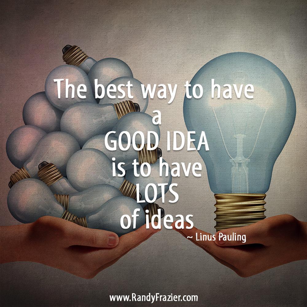 Linus Pauling Quote