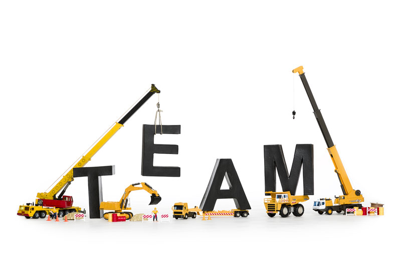 The Team Builders . . .