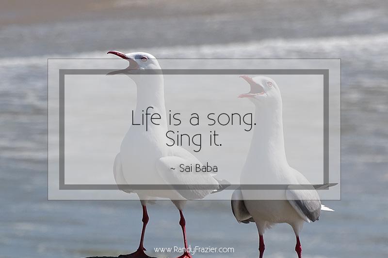 Sai Baba Quote | Randy Frazier