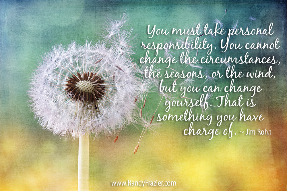 Jim Rohn Quote about Personal Responsibility