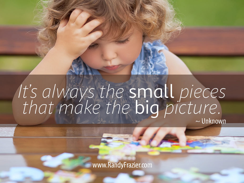 Quote about the Big Picture
