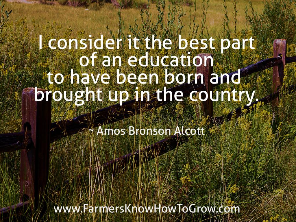 Amos Alcott Quote