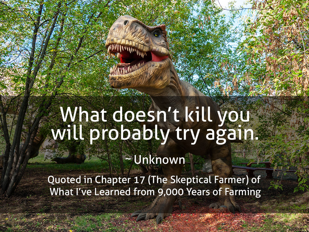 What Doesn't Kill You Quote