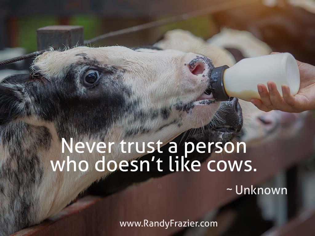 Dairy Farmer Quote