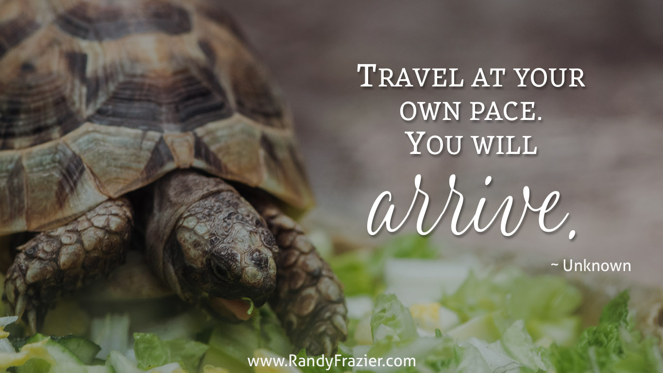 Travel at Your Own Pace