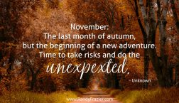 Quote about November