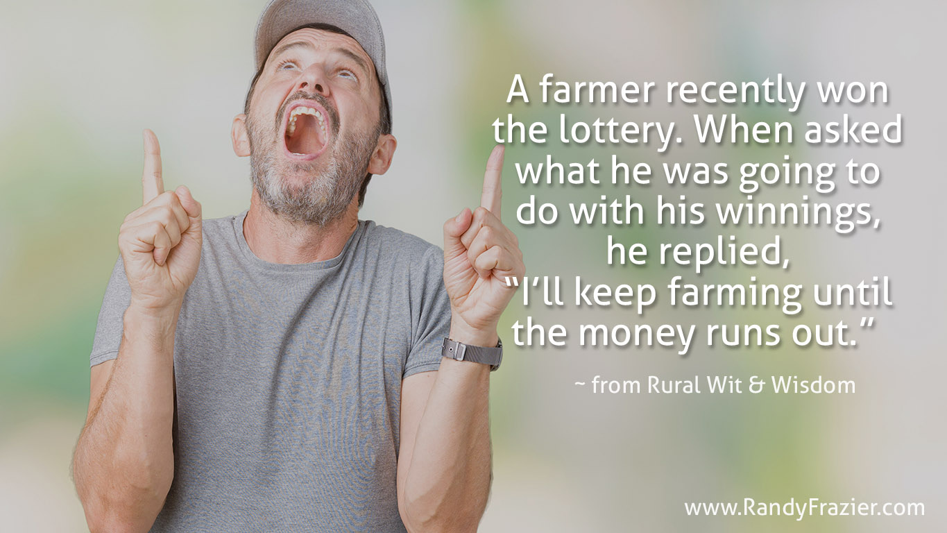 Rural Wit and Wisdom Quote