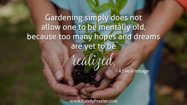 Allan Armitage Quote