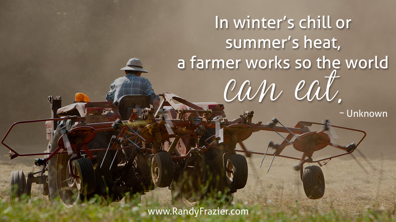 Quote about Farmers
