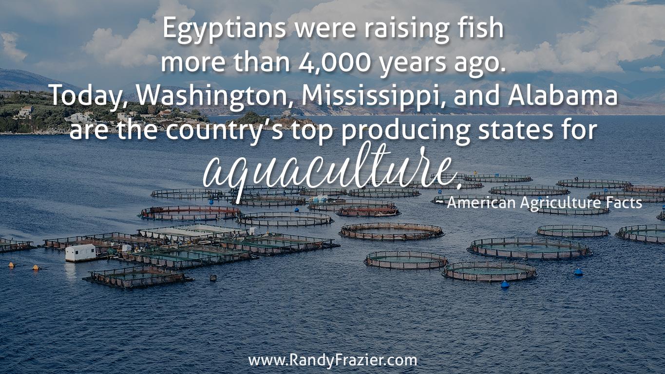Ag Fact about Aquaculture