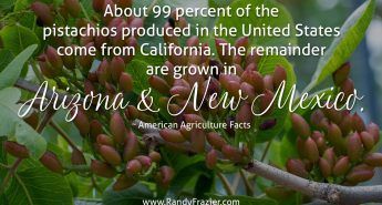 Ag Facts about Pistachios