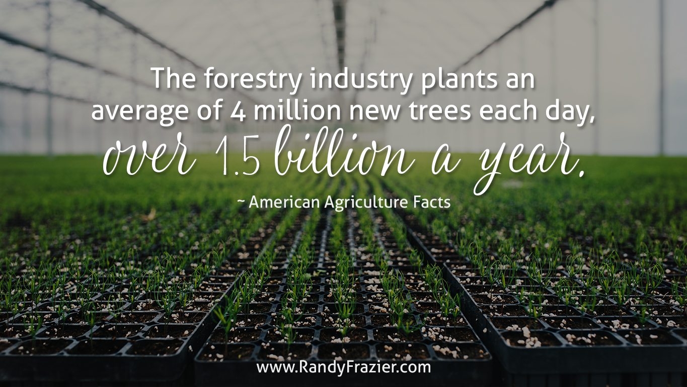 Ag Facts about the Forestry Industry
