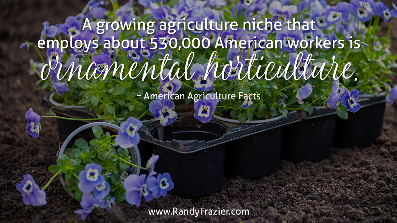 Ag Facts about Ornamental Horticulture