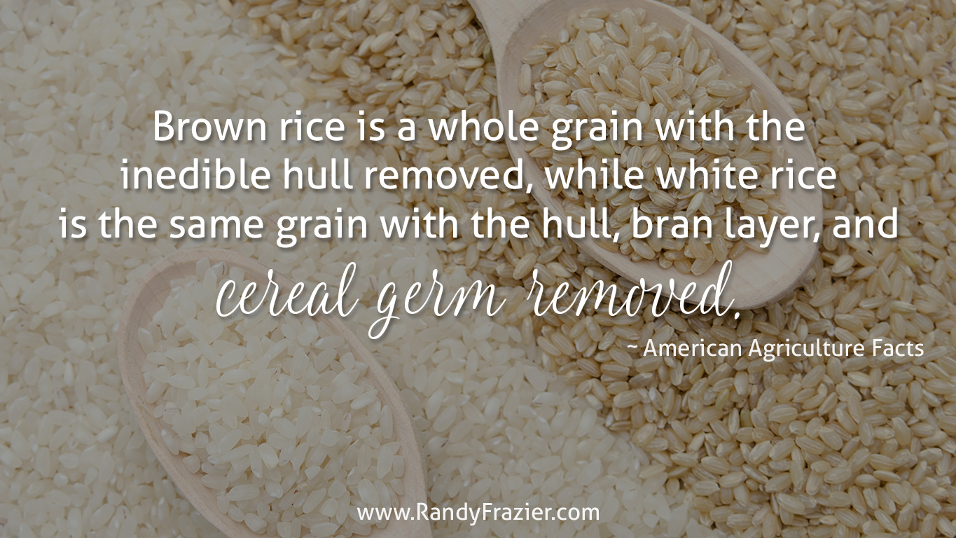 Ag Facts about Rice