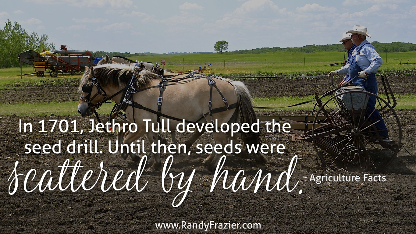 Ag Facts about the Seed Drill