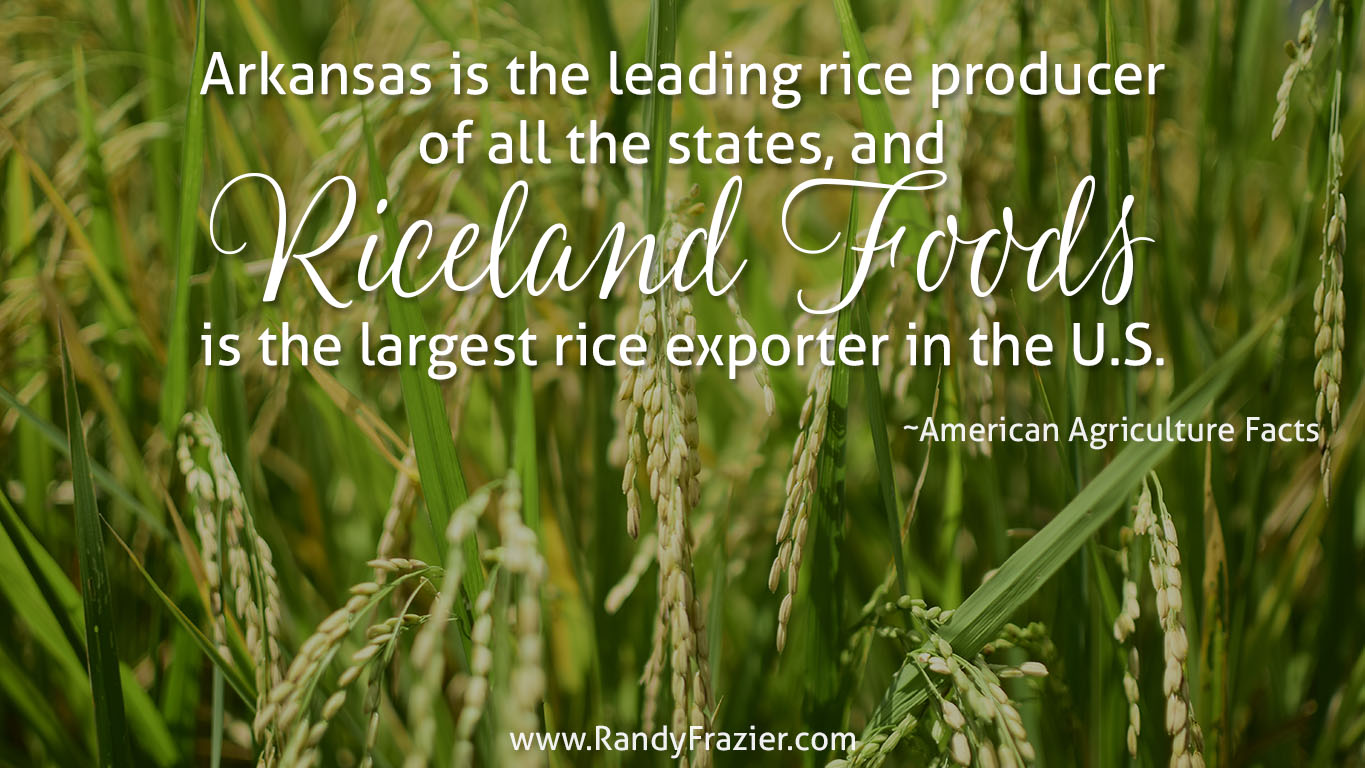 Ag Facts about Rice Production