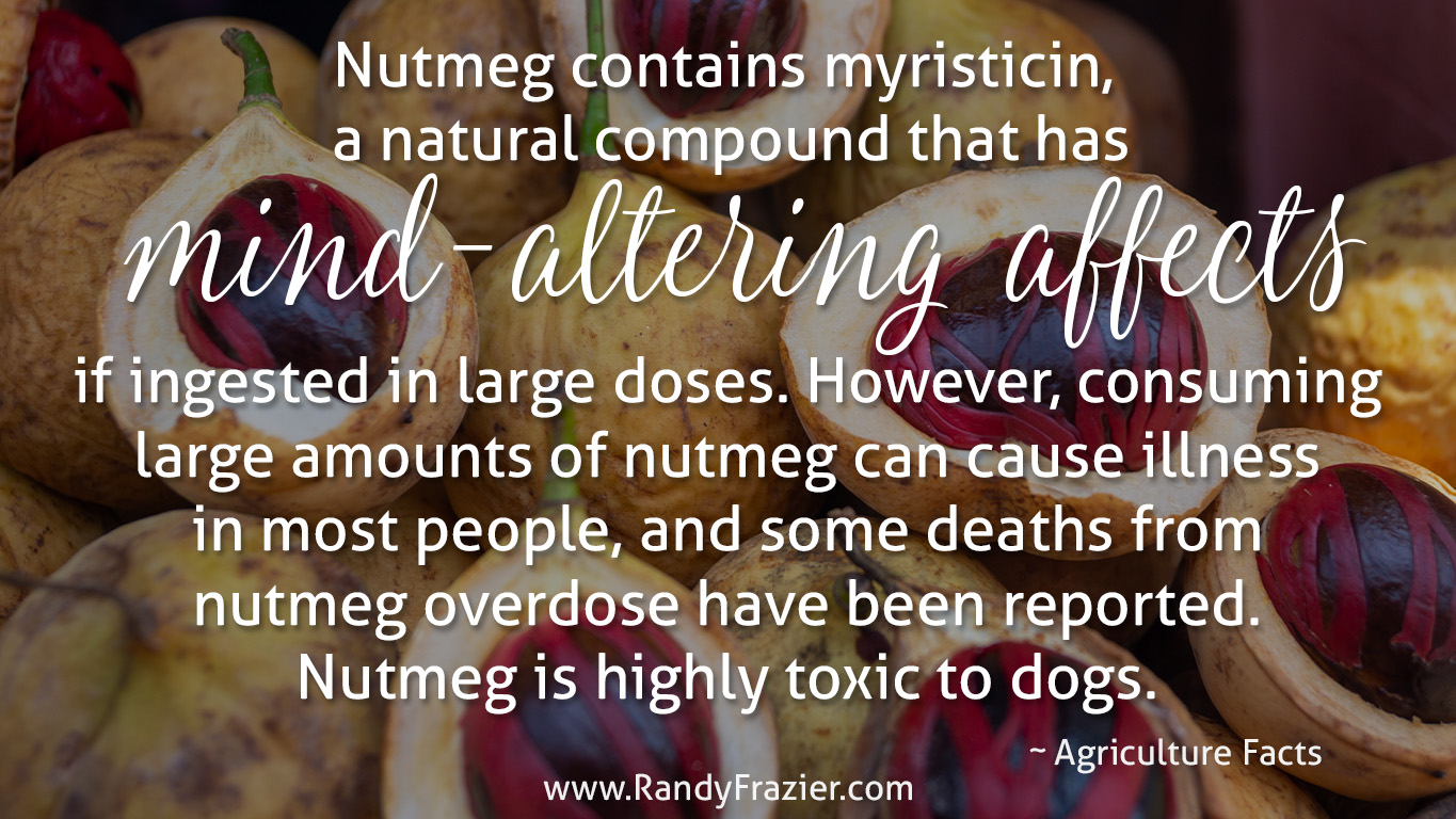 Ag Facts about Nutmeg