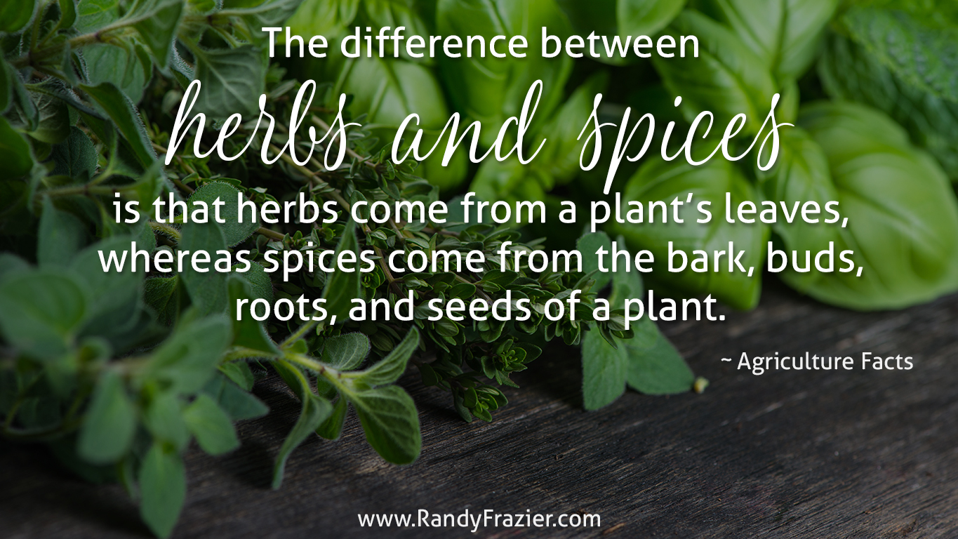 Ag Facts about Herbs and Spices