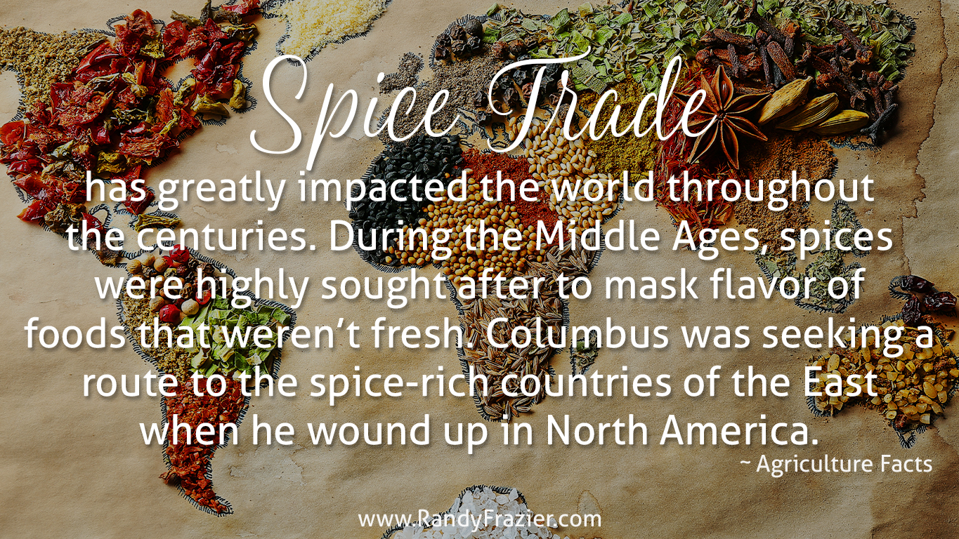 Ag Facts about the Spice Trade