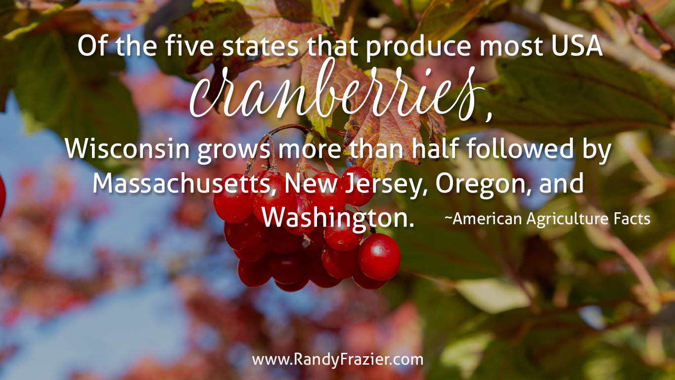 Ag Facts about Cranberries