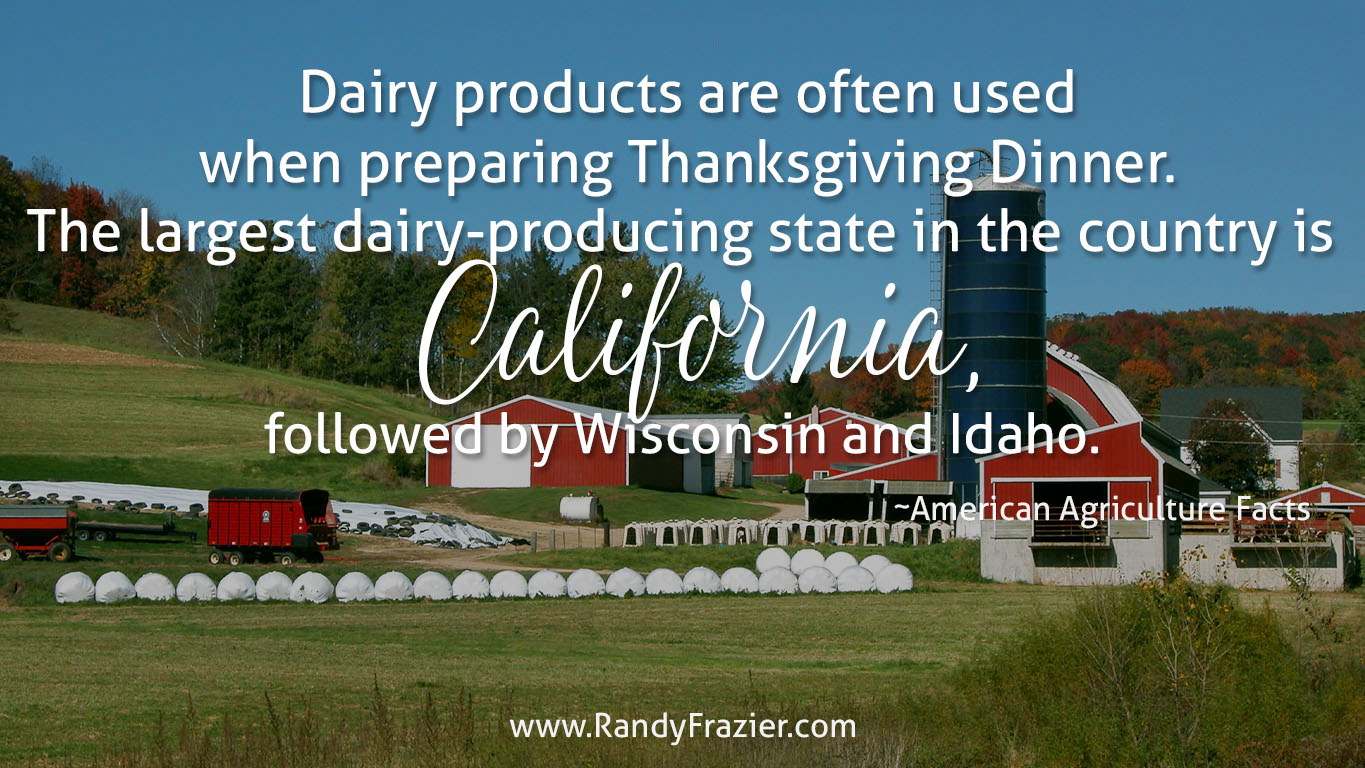 Ag Facts about Dairy Products