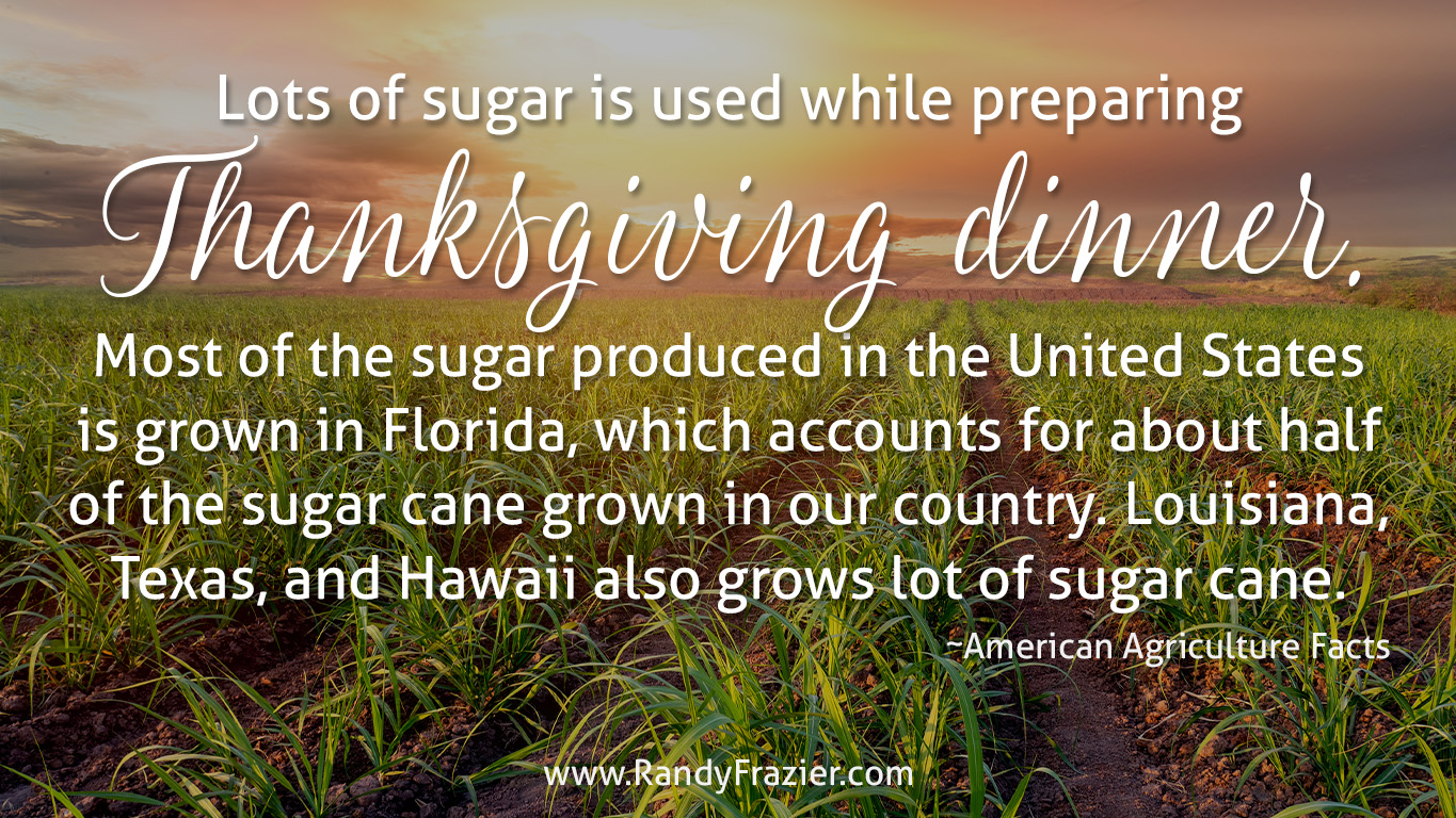 Ag Facts about Sugar
