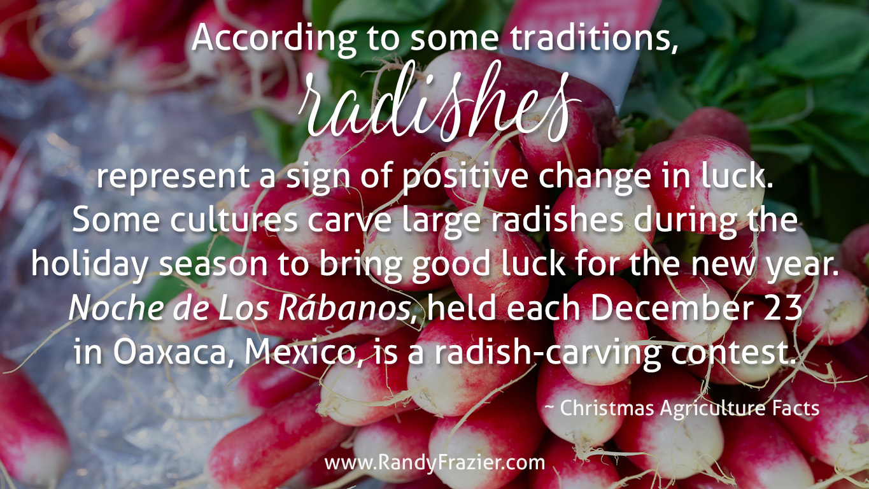 Christmas Ag Facts: Radishes