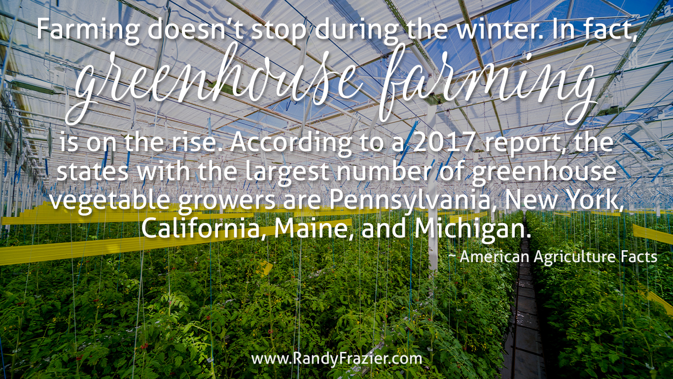 Ag Facts about Greenhouse Farming