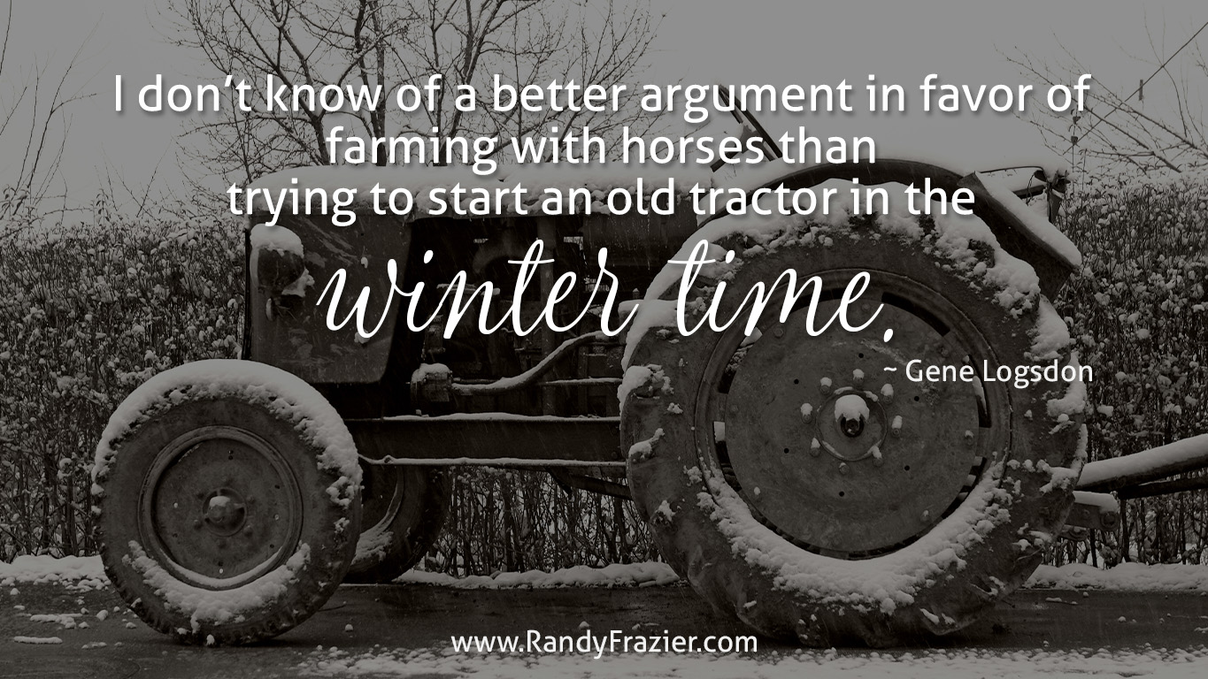 Farm Quotes about Winter