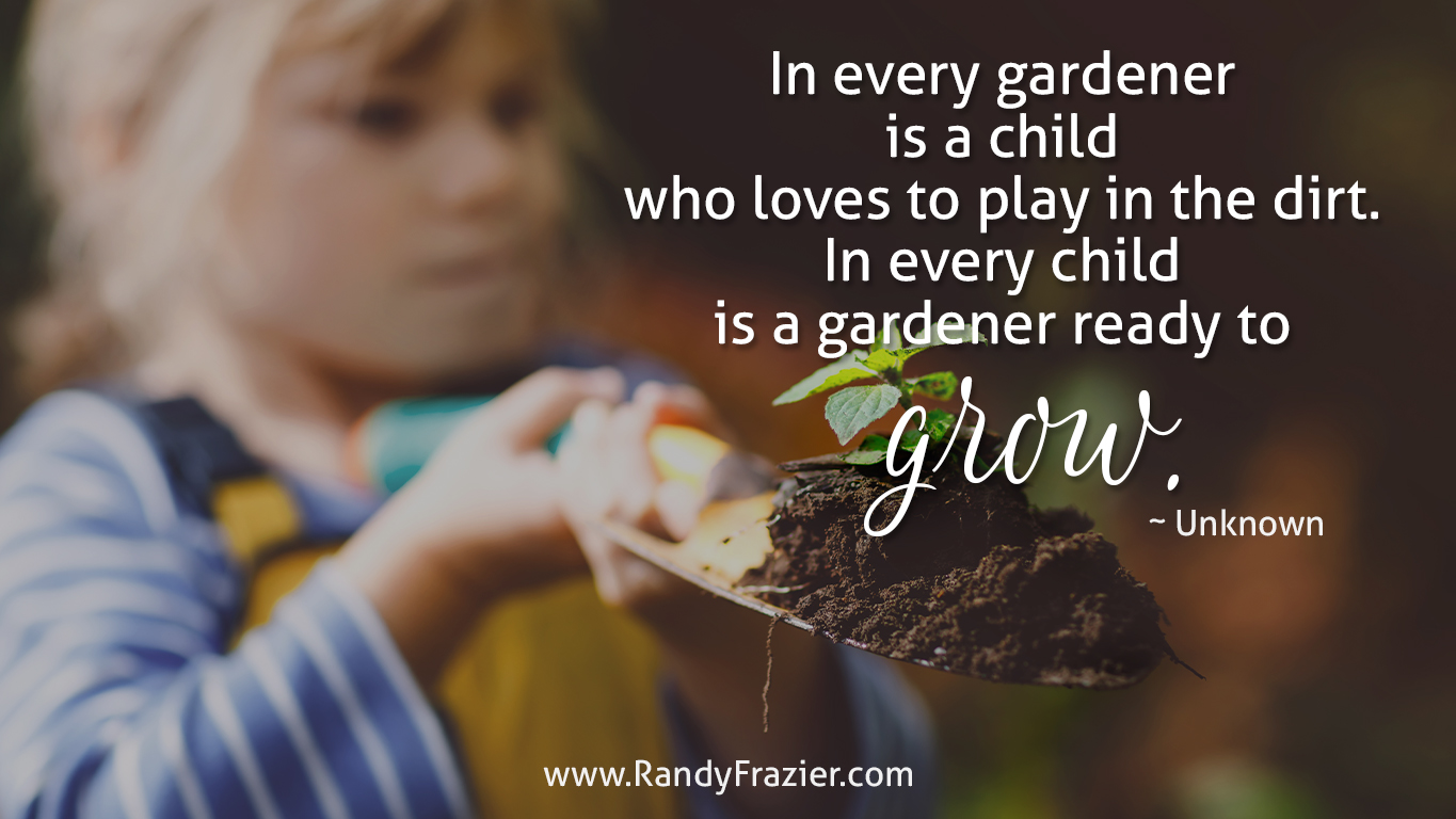 Quote about Gardening